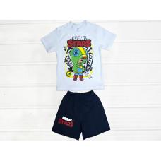 Комплект для хлопчиків футболка і шорти