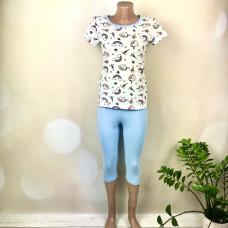 Піжама- футболка + бриджі